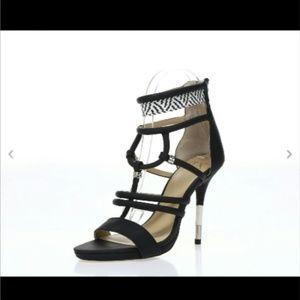 GX by Gwen Stefani Shoes - Gx by Gwen Stefani Woven strappy heeled sandals